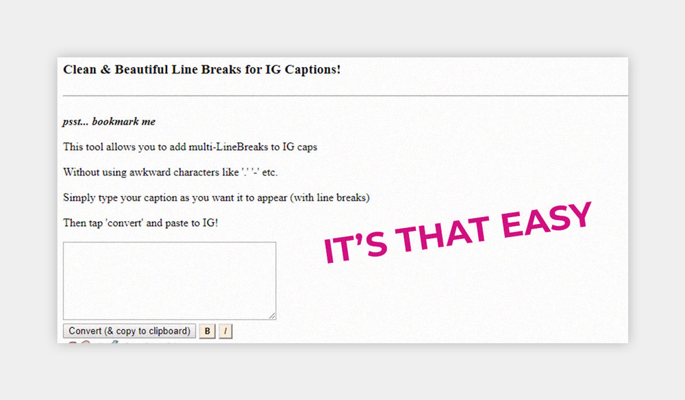 How to add line breaks in Instagram captions 2020