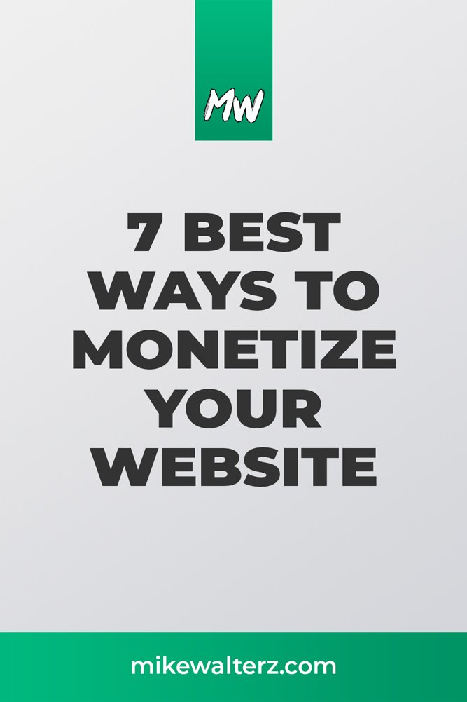 Want to make some passive income online? Find out how you can monetize your website & have your business do the work for you - #money #website #business #wordpress #squarespace #wix #makemoney