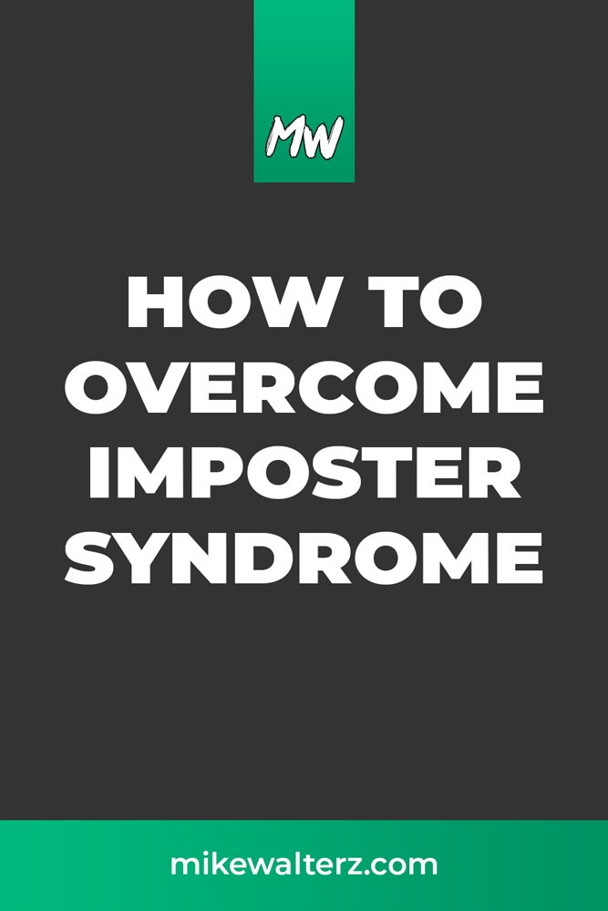 """How to Overcome Imposter Syndrome. Imposter Syndrome is something that affects all of us, gnawing away at our minds telling us we're """"not good enough"""". Today, you'll learn how to overcome it. #business #mindset"""