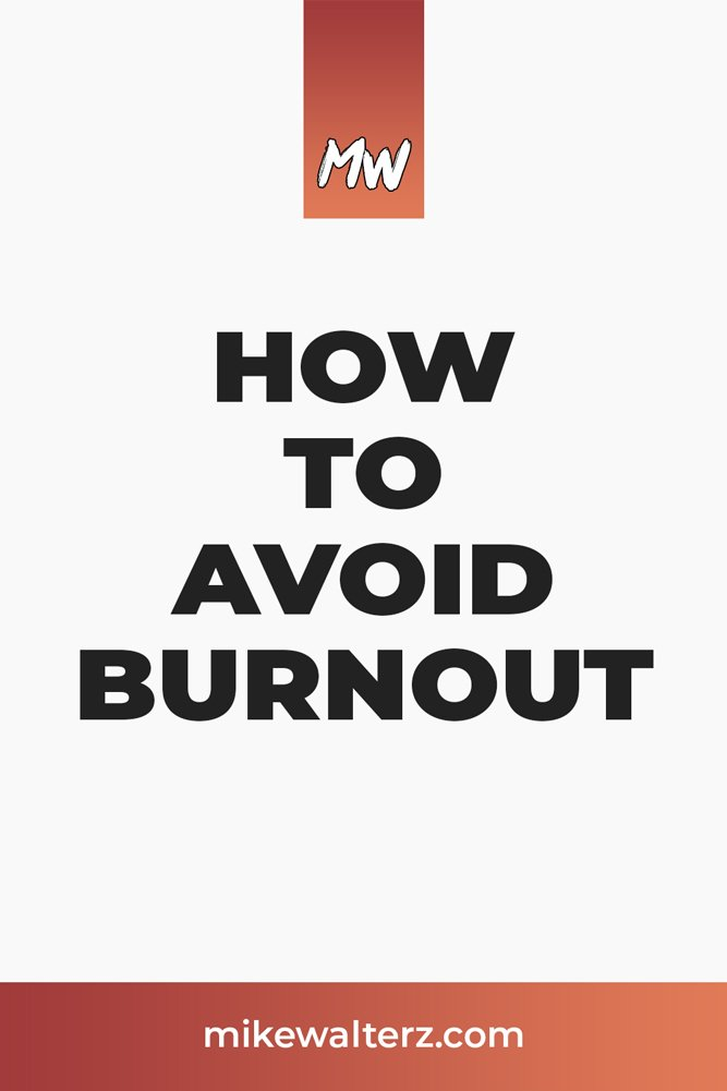 Exhausted, lacking motivation & on the brink of imploding? Spare a minute to check out this post on how to avoid & recover from burnout as an entrepreneur. - Mike Walters - #mindset #burnout #depression #anxiety #sleep #exercise #mental #health #entrepreneur #business #mind #happy