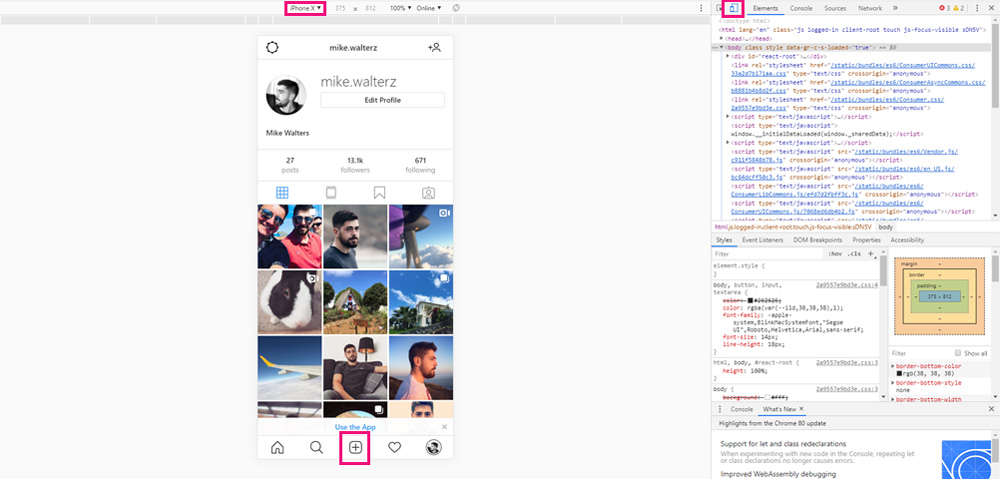 How to Post On Instagram from the Instagram Website