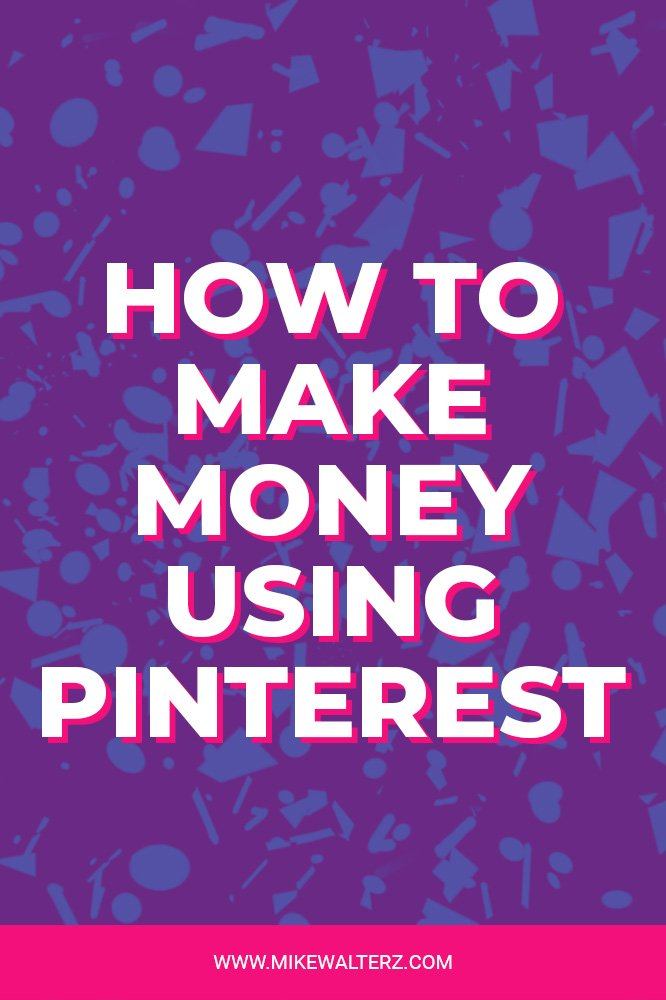 Wondering how you can use Pinterest to improve your website traffic and make more money? Check out this article which explains why you need to use Pinterest - Mike Walters - #pinterest #social #media #money #online #website #traffic