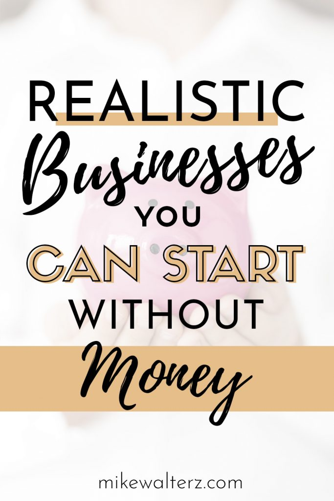 Most entrepreneurs have these elaborate business ideas that require a ton of start-up capital and often go off in search of a bank, partner or investor to back their idea, however, in most cases this isn't necessary. The majority of businesses can be started with next-to-no money, and in this post, you should hopefully find some good examples of the cheapest business to start.
