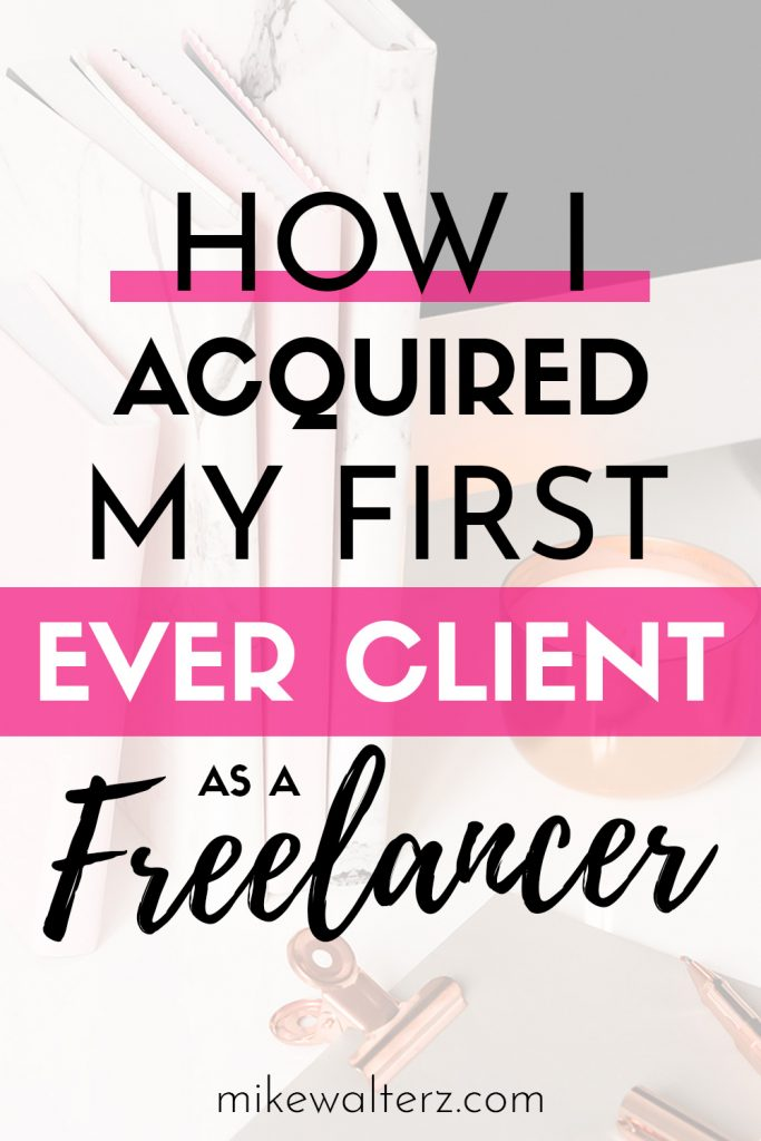 Wondering how to reach out and land your first freelance client? I was thinking the same back in 2018. Back then, I was forced into entrepreneurship after being on the receiving end of a sudden, yet life-long, health condition which stopped me from working at my regular 9-to-5 job. I needed to make some money and decided to start building websites from home, but how was I going to find my first client as a freelancer?
